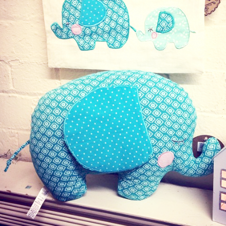 30% OFF Elliot Elephant Shaped Cushion